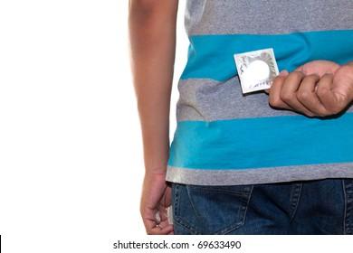 hide condom