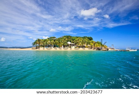 Hideaway Island--Beautiful tropical island in Vanuatu, South Pacific