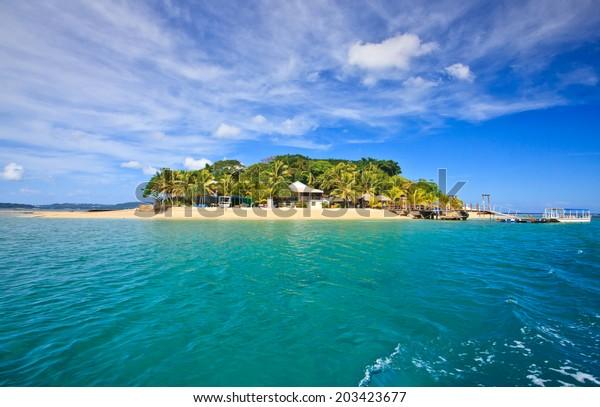 Hideaway Island--Beautiful tropical island in Vanuatu, South Pacific