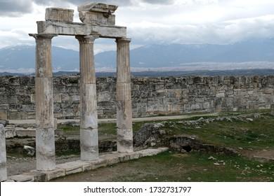 Hierapolis ancient Greek city in southwestern Anatolia