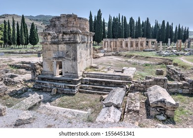 Hierapolis and Pamukkale, world heritage site in Turkey