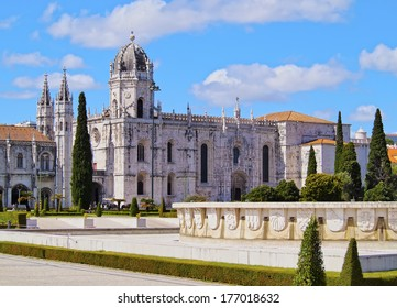 The Hieronymites Monastery in Belem, Lisbon, Portugal
