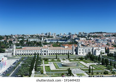 Hieronymites Monastery, located in the Belem district of Lisbon, Portugal.