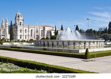 Hieronymites Monastery (Mosteiro dos Jeronimos) in Lisbon, Portugal