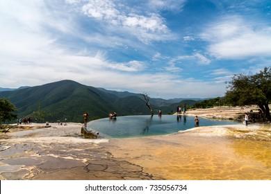 Hierve el Agua Oaxaca, Mexico