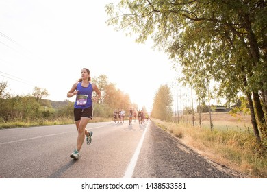 Hifa/israel - 07/23/2019  people on Trail Running
