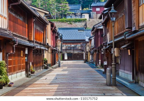 Higashi-Chaya-gai - Geisha District in Kanazawa, Japan