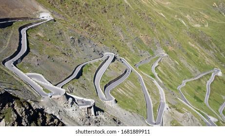 High alpine road - Passo dello Stelvio