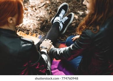 Teens lespen LGBTQ Youth