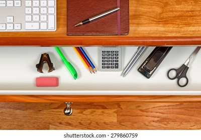 Wooden Drawer Desk Images, Stock Photos & Vectors | Shutterstock