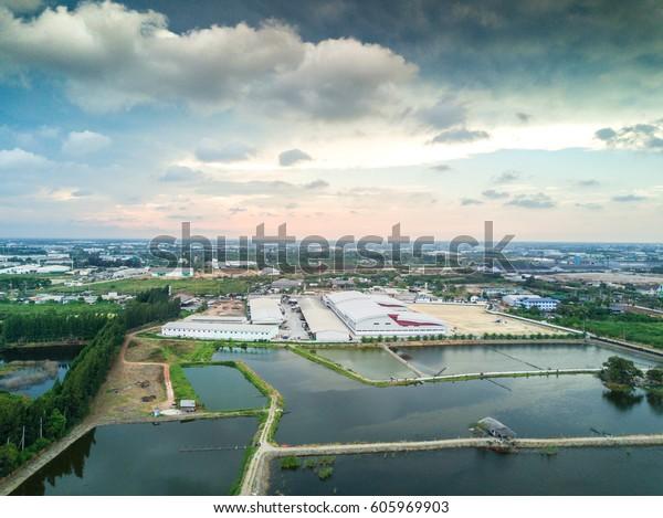 Shots For Thailand >> High Angle Shots Samutsakhon Thailand Stock Photo Edit Now