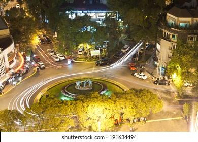 High angle view of a city, Mexico City, Mexico