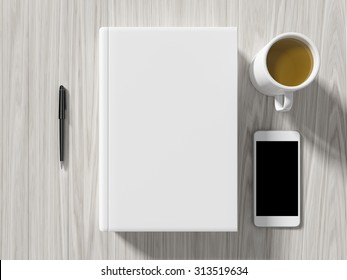 High angle view of a setting table of business workplace shot in office home & Agenda Book Images Stock Photos \u0026 Vectors | Shutterstock
