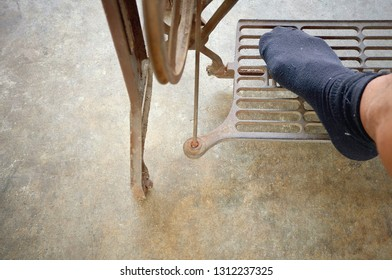 Foot Treadle Images, Stock Photos & Vectors | Shutterstock