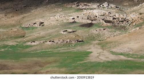 high atlas mountain, Tichka plat morocco