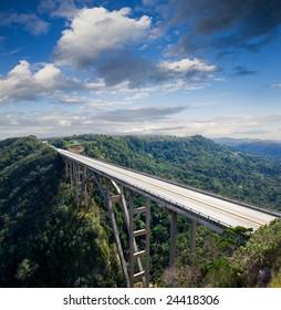 A high bridge