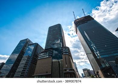 High building,japan