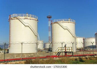 High capacity fuel tanks used for storage