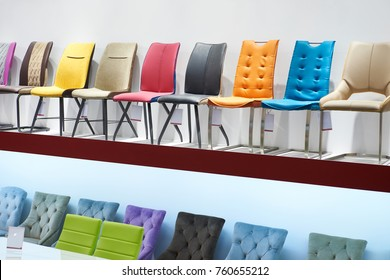 High chairs for sale in the store