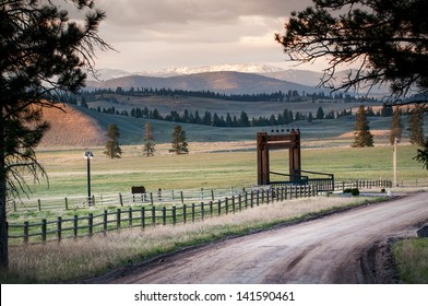 High chaparral, Montana ranch