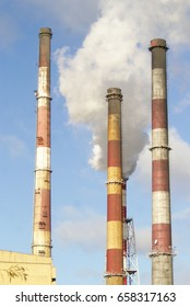 High chimneys factory