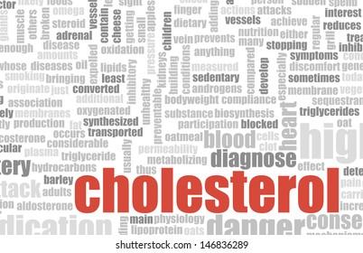 High Cholesterol Warning and Diagnosis as Art