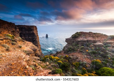 The high coast of the Natural Park in Portugal