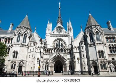 High Court, London, England, UK