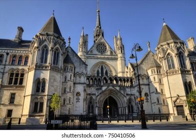 High Court, The royal court, London, England, UK