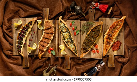 high definition decorated Lebanese food  - Shutterstock ID 1790307503