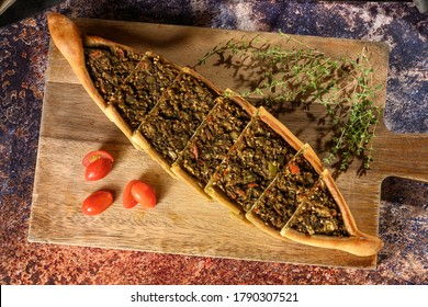 high definition decorated Lebanese food  - Shutterstock ID 1790307521