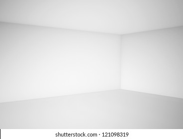 high definition empty white room