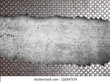 high definition  torn metal texture