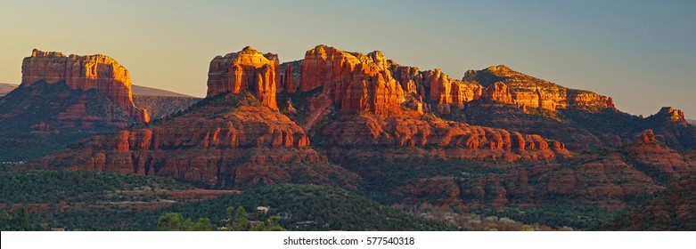 High desert landscape near Sedona Arizona.