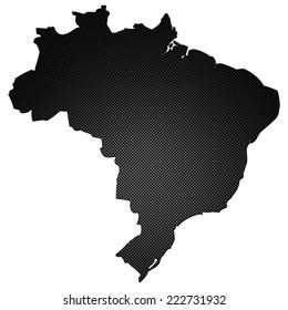 High detailed carbon map - Brazil