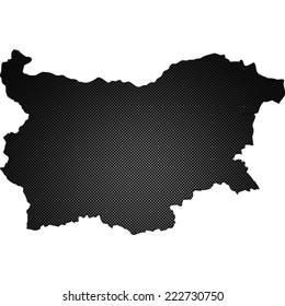 High detailed carbon map - Bulgaria