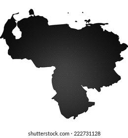 High detailed carbon map - Venezuela