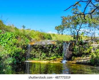 High dynamic range (HDR) Chapada dos Guimaraes is a large national park in the Brazilian state of Mato Grosso