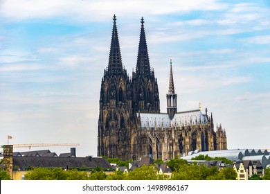 High dynamic range HDR Cologne Cathedral in Cologne, Germany