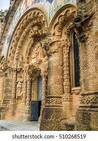 High dynamic range (HDR) The Sagrat Cor church in Barcelona Spain