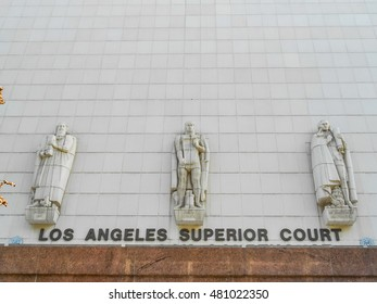 High dynamic range (HDR) Superior Court in Los Angeles California USA