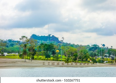 High dynamic range (HDR) View of the Malabo Sipopo island in Equatorial Guinea