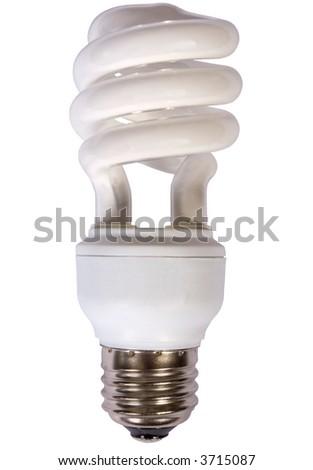 High Efficiency Fluorescent Light Bulb Stock Photo Edit Now