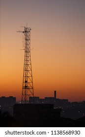 High eletric tower
