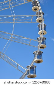 High ferris wheel against sky