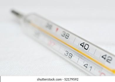 high fever
