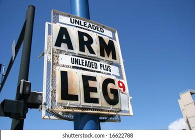 High Gas Price, Arm and Leg