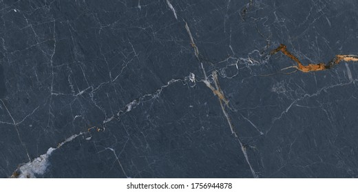 high gloss dark blue marble texture use in ceramic wall and floor tiles design
