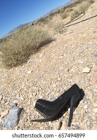 High heel lost