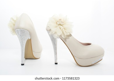 High Heels Isolated on White Background